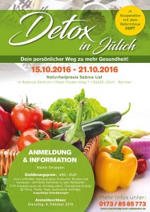 Detox in Jülich @ Balance Zentrum