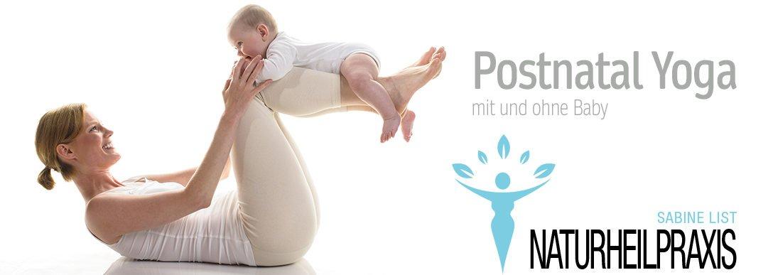 Postnatal Yoga mit und ohne Baby